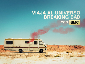 Todo Breaking Bad en AMC. Motion Poster.