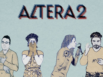 Altera2. Cabecera Web Serie